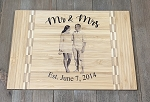 Custom Bamboo Cutting Board With High Resolution Photo